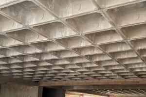 پروژه های سقف وافل